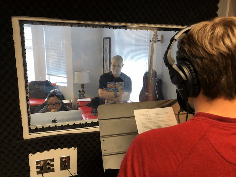Voice Over Classes at Story Institute